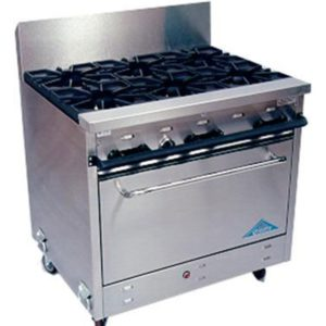 Burners, Ovens, Fryers,